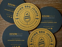 Kevin's BBQ Joints Business Card Concept