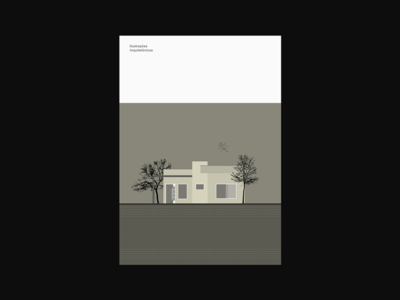 Ilustrações Arquitetônicas vectors vetores houses casas arquitetura