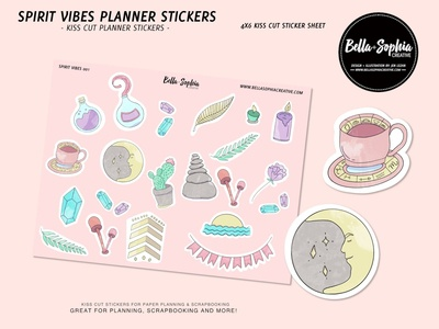 Spirit Vibes Sticker Set