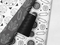 Minimalist Alchemy - Surface Pattern Design - Fabric