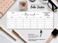 Simple Minimalist To Do List for Creative Market
