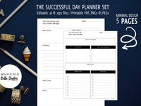 Successful Planner Mockups