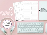 Bujo Planner Pages Templates for Creative Market
