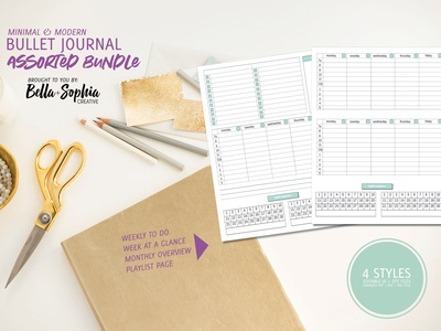 Bujo To-Do Pages Bundle