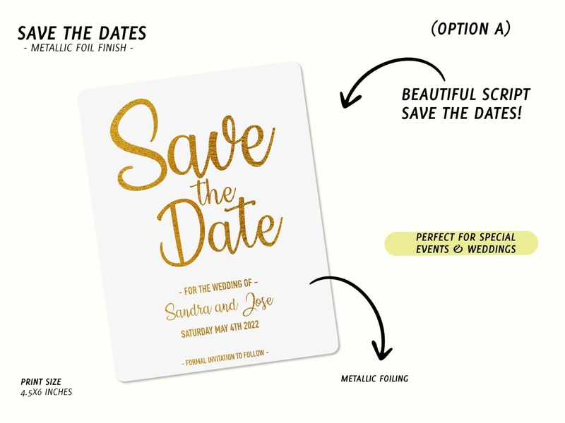 Save the Date Designs printable graphic design product design design