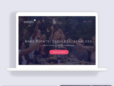 event pru Home page
