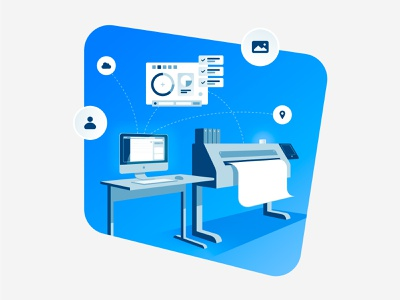 Spaa - Wide Format Print Illustration flat  design branding illustrator graphic graphic design illustration