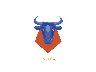 Touring - Spain minimal simple spain flat  design vector logo icon graphic illustrator graphic design illustration