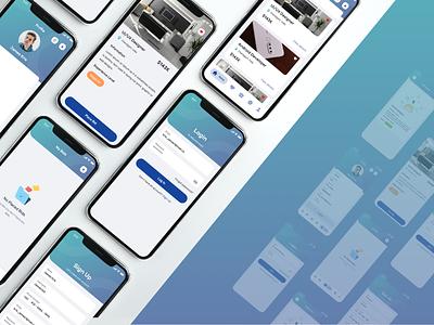 Mobile App UI ui design app ui