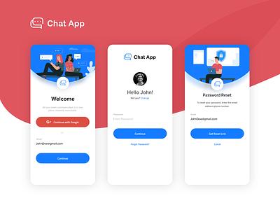 Chat App - Onboarding ui