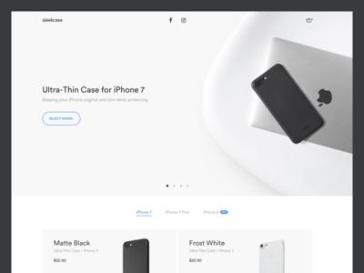Sleekcase Landing Page