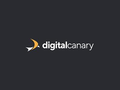 Digital Canary Brand Design vector icon logo design logodesign logo typogaphy illustrator idenity mark ai digital icons brand identity design branding