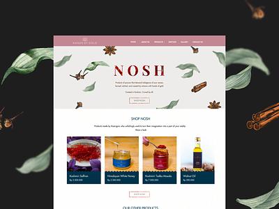 Homepage Design for Hands Of Gold webdesign website designer webpage india kashmir ui ux designer ui ux web website design ui ux design landing ui ux homepage design