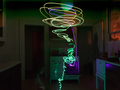 Painting with light - Microcontroller driven light wand maker