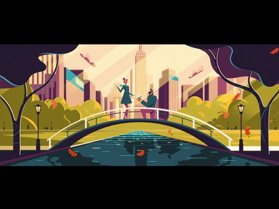 Diamonds pitch diamonds not to scale animation 2d illustration colin hesterly