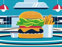 Amex Burger
