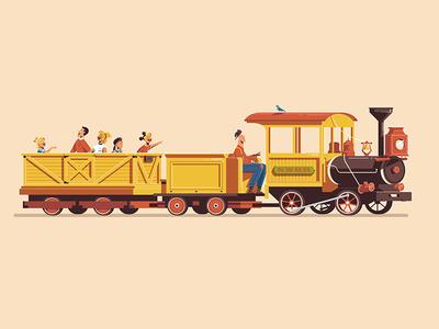 Expo '55 - Mine Train Thru Nature's Wonderland