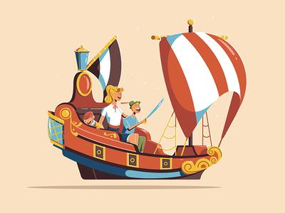 Expo '55 - Peter Pan's Flight