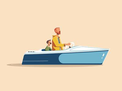 Expo '55 - Motor Boat Cruise