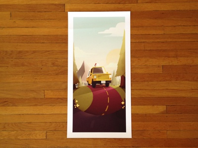 Pizza Planet Truck - Print