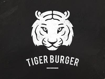 Tiger Burger  logo tiger burger identity korean