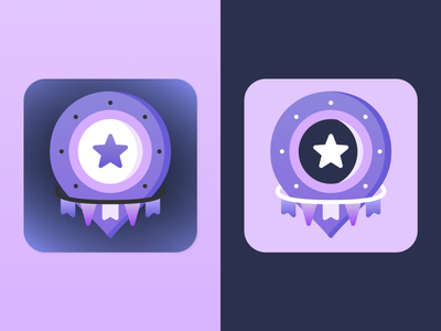 Advent Finder - mobile app icon App Store branding logo app icon mobile app iosapp illustration ui sketch figma app ui mobile app design uiuxdesign