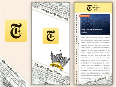 New York Times App Redesign