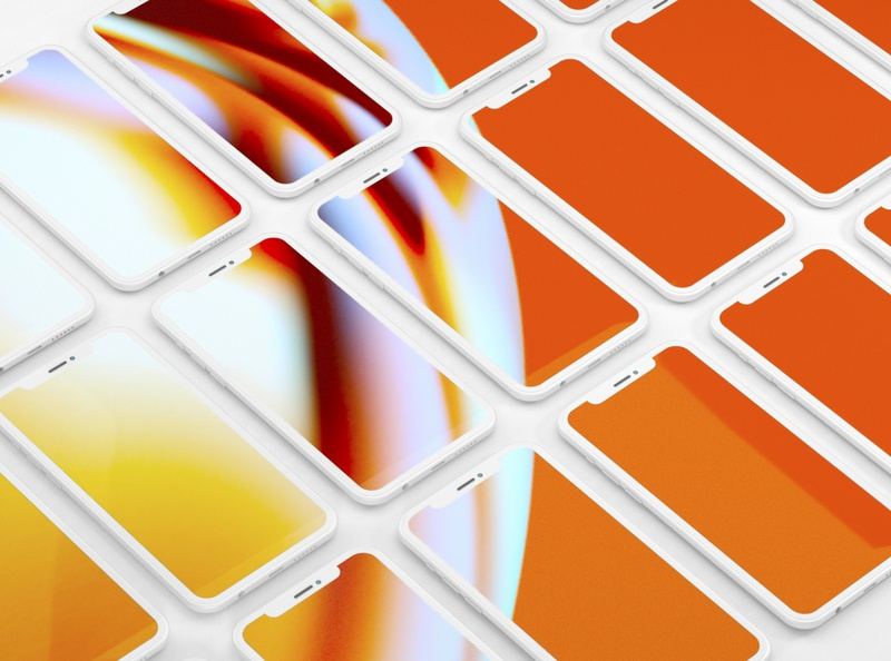 Dropbox Transfer Background wallpaper background digital art art gradient graphic design c4d 3d illustration abstract