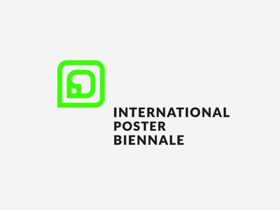 International Poster Biennale lo branding logo a day print lo-fi projektowanie logotype design lo-poly typography poster challenge sign in form znak logotype logo