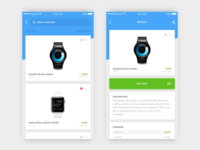 BuyHappy iOS - Search & Detail