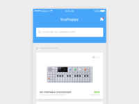 BuyHappy iOS - Home