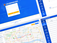 A set of UI WEB system