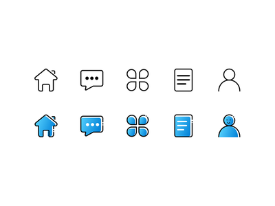 Simple few APP small icons