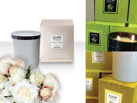GLOW Scented Candles - Packaging