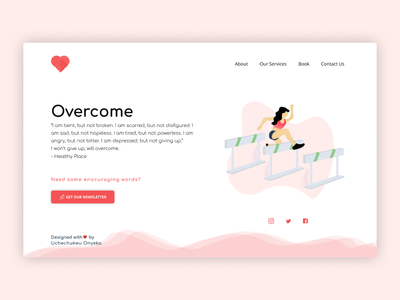 Landing Page Challenge Day 002