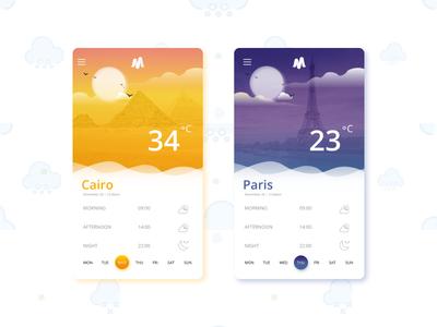 Meteoro weather app