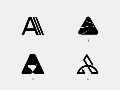 A Logo Letter mark exploration