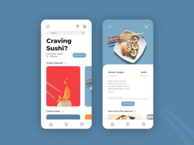 Sushi Restaurant App Challenge