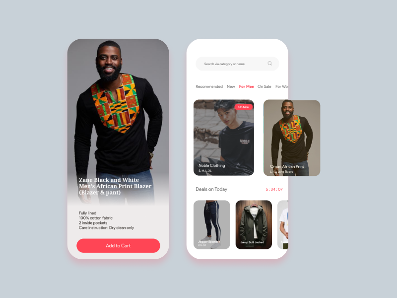 Online Shopping store photos ux ui buy online store fashion