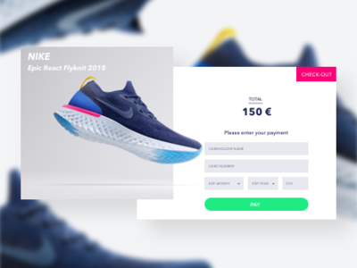 Check it out! nike desiginspiration ecommerce payment credit card checkout dayliui