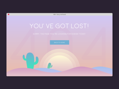 404 – page not found gradient sketch app 2d flat  design 404 page illustration ui dayliui
