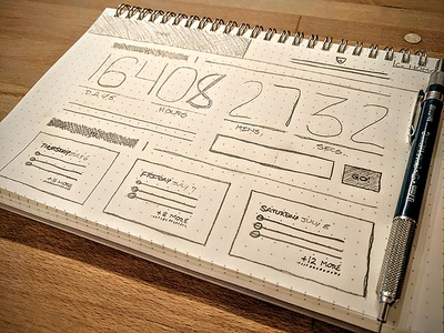 Wireframe: Event Landing Page