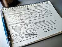 Wireframe: Hotel Promo Page