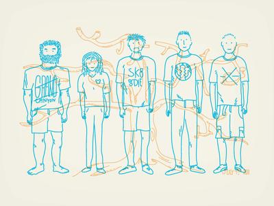 My Fam illustration