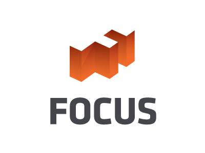 Focus Logo logo whitespace klavika branding