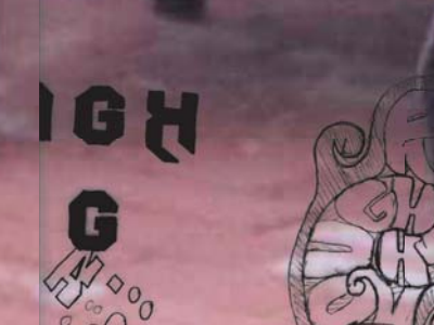 Rough sketch ambigram