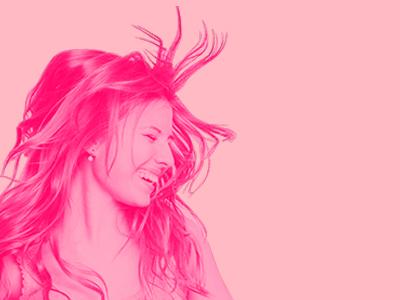 Photoshop & Pink Filter