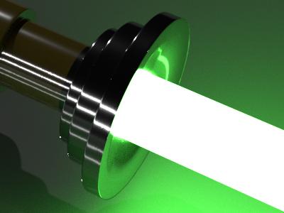 Blender Laser 3D