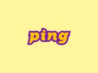30 logos challenge #1 - Ping