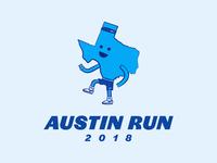 30 logos challenge #7 - Austin Run
